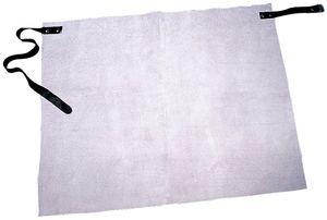 Feldtmann Lederhüftschürze Claus Länge ca. 70 x Breite ca. 60 cm hellgrau