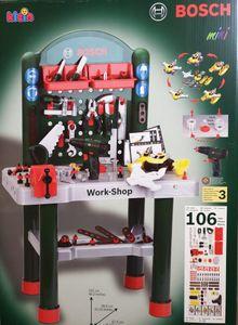 Theo Klein BOSCH - Work-Shop Werkbank