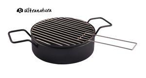 Feuerkorb Grilleinsatz 32cm Kohlebehälter Grillrost Grillerweiterung Picknick