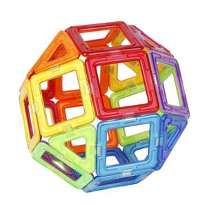 50 Stück Alle magnetischen Bausteine Bau Kinder Lernblock Spielzeug