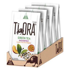 Ti Ora Grüner Tee Green Tea Passionsfrucht Pfirsich Neuseeland 60x 2g Beutel