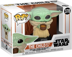 Funko POP! Star Wars The Mandalorian #378: 'The Child with Cup'