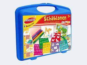 Bastelkoffer Stifte & Schablonen