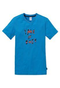Schiesser  - Jungen T-Shirt / Schlaf-Shirt Gr. 140