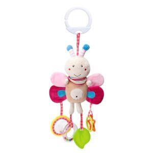 Baby Kinder Kinderwagen Kinderbett Handbell Kinderwagen hängen Hand Glocke Anhänger Kuscheltier,Biene