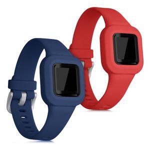 2x Armband kompatibel mit Garmin Vivofit jr. 3