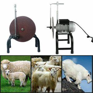 480W Elektrischer Scherenschleifmaschine Klingenschärfer Schafschere Klingemühle Schleifwerkzeuge Schafe Ziege Schermaschine Wollschere 220V 26CM