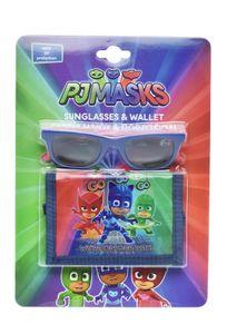 Disney brieftasche für Sonnenbrillen PJ Masken junior blau 2-teilig