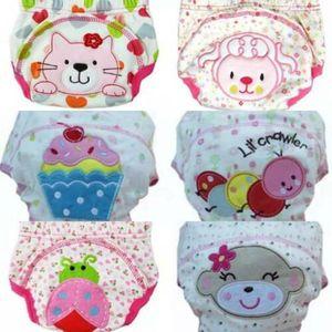 6er Pack (90) Mädchen Wasserdicht Baby Trainerhose Windelhöschen Unterhose Töpfchentraining