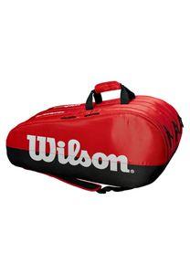Wilson Team 3 Comp Bkrd - 000 Black/Red / -