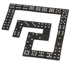 - Domino in Holzbox, 55 Steine