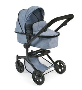 """Bayer Chic 2000 Kombi-Puppenwagen """"MIKA"""" - Farbe: Jeans blue; 595 50"""