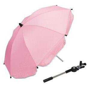 Kinderwagen Kinderwagen Kinderwagen UV Regen Sonnenschutz Regenschirm Schatten Farbe Rosa
