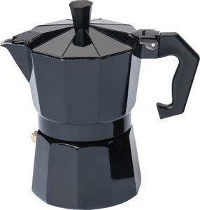 Karl Krüger 501S Italiano Espressokocher Mokkakocher 3 Tassen schwarz