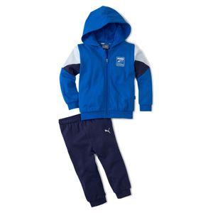 PUMA Baby Kinder Minicats Rebel Jogger Trainingsanzug , Größe:98, Farbe:Blau (Puma Royal)