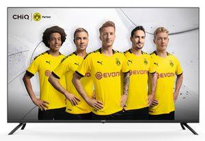 CHiQ 4K Ultra HD LED Smart TV 55 Zoll 139cm U55H7N, Prime Video, Netflix, YouTube, Triple Tuner