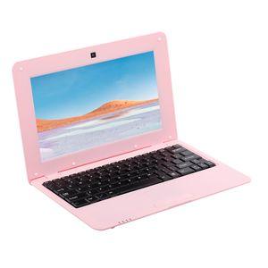 10,1-Zoll-Netbook Lightweight Portable Laptop AKTIONEN S500 1,5 GHz ARM Cortex-A9 / Android 5,1 / 1G + 8G / 1024 * 600 Pink EU-Stecker