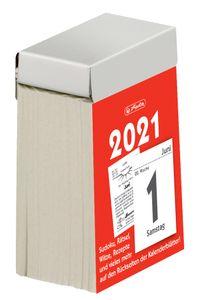 herlitz Tages-Abreißkalender 40 x 60 mm Nr.1 2021