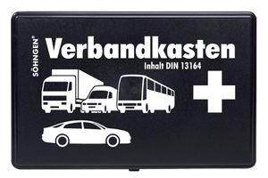 SÖHNGEN KFZ-Verbandkasten KU DIN 13164 bestückt schwarz