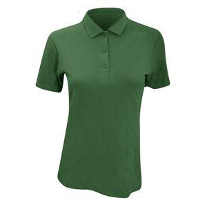 Anvil Damen Polo Shirt Double Pique, Semi-Fitted RW2527 (XL) (Waldgrün)