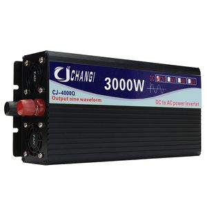 12V 4000W Power Inverter reine Sinuswelle Konverter + LCD