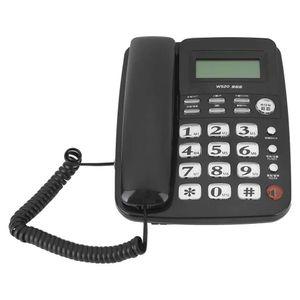 Mllaid Schnurgebundene Telefone, Schnurgebundenes Festnetztelefon mit Anrufer-Identifikation Telefon Freisprechen für Büro, Zuhause, Hotel.