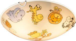 Deckenleuchte mit Tiermotiven für das Kinderzimmer