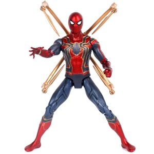 Spiderman Action Figur Superheld PVC Modell Kinder Spielzeug Spielzeug Sammlung Modell Figuren