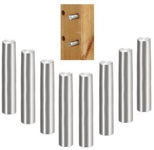 8x Bodenträger stahl 5mm x 45mm Regal Halterung Träger Regalbodenträger Holzböden Stifte