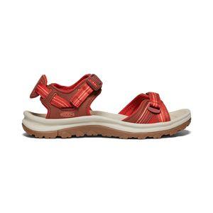 Keen Terradora II Open Toe Sandal Women dark red/coral - Wandersandale, Keen_Farbe:dark red/coral, Keen_Schuhgröße_Damen:39 (US 8.5)