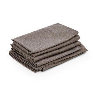 Blumfeldt Theia Polsterbezüge - Material: 100% Polyester gewebt 220 g/m² , wasserabweisend , geeignet für Handwäsche , 8-teiliges Zubehör-Set , Braun meliert
