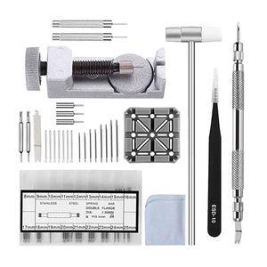 Uhrenwerkzeug Set, Uhrmacherwerkzeug Set, Uhr Reparaturset, Uhren Armband Werkzeug, Uhren Werkzeug für Uhren Band Wechseln und Einstellung
