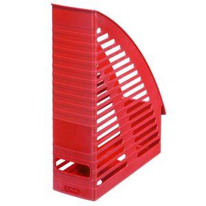 Herlitz Stehsammler / Plastik Stehordner / Farbe: rot