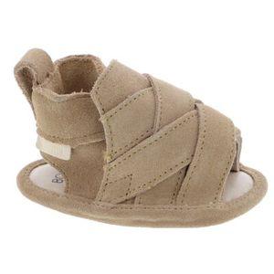 Boumy Unisex Baby-Schühchen in der Farbe Beige - Größe 17-18