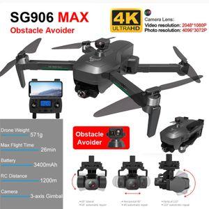 SG906 Pro MAX 4k HD Automatische Vermeidung von Hindernissen 3-Achsen-Gimbal 5G WiFi-GPS-Drohne SCY201221103