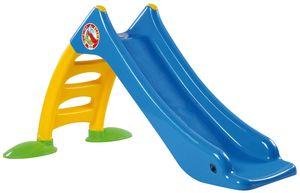 Dohany 2in1 Kinder Kinderrutsche Rutsche freistehend Rutschlänge 120cm blau/gelb