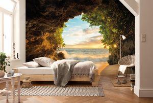"""Komar Fototapete """"Hide Out"""", bunt, 368 x 254 cm"""