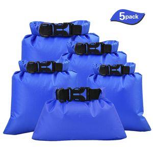 5 Stück wasserdichte Aufbewahrungsbeutel für den Außenbereich Trockensäcke Aufbewahrungsbeutel für Smartphone Kameras für treibende Wassersportarten