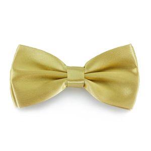 Oblique Unique Fliege Schleife Hochzeit Anzug Smoking - light-gold