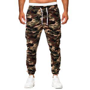 Herren Jogginghose Hosen Camouflage Elastic Joggings Sport Solid Baggy Hose Größe:M,Farbe:Türkis