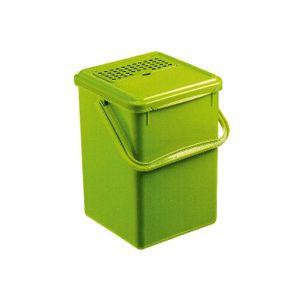 Rotho Komposteimer 9lmit Aktivkohle, grün