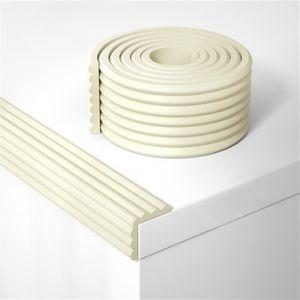W Form 10m Kantenschutz Baby 6 Stück Selbstklebend Wasserdicht Kantenschutzprofil Eckenschutz Tischkante Beige