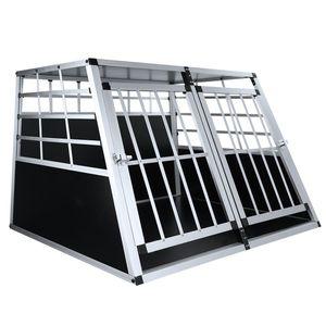 Hundetransportbox aus Aluminium 95 x 86 x 69 cm(L∗B∗H)