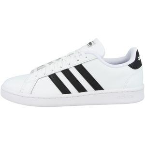 Adidas Herren Sneaker Sneaker Low Leder weiss 40
