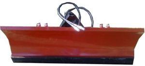 Schneeschild 150 x 40 cm hydraulisch schwenkbar 3-Punkt KAT.0-Anbauplatte