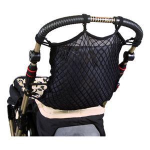 SUNNYBABY Universalnetz für Kinder- und Sportwagen mit Stoffeinhang - schwarz