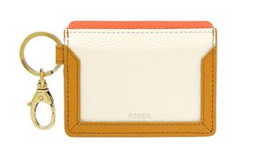 FOSSIL Lee Card Case Mustard Gold