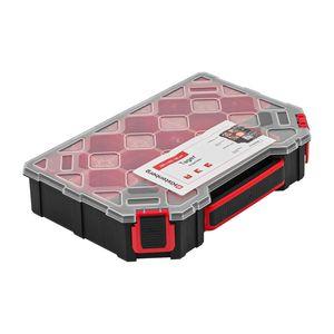 Sortierbox mit Behältern Sortimentskasten Kleinteilemagazin Kleinteilebox Box