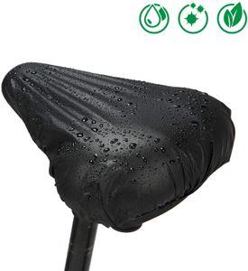 2er Set Sattelbezug in Universalgröße für jedes Fahrrad - Sattelschutz Wasserdicht - Fahrradsattel Regenschutz - Überzug Fahradsattelschutz - Fahrradsattelbezug für wasserdichte Sattel…