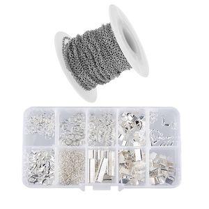 1 Satz Schmuckherstellung Starter Kits Armband Halskette Schmucksachen Handwerk